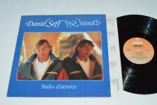 DANIEL SEFF Nuits d'amour LP 1984 CBS Records Canada PFC-90717 VG/VG Pop Chanson