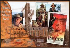 UNINVITED__Orig. 1993 Trade Print AD movie promo__JACK ELAM__Christopher Boyer
