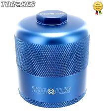 "Torques Billet Aluminium Inspection Re-Usable Oil Filter In Blue 3/4"" UNF"