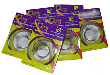 6 Stainless Steel Thunder Group Sink Strainers for Kitchen Sink Strainers