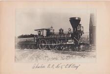 """G.W. Perry"" No. 2 October 1863 Train Snapshots/Photos"