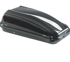 roof rack top box cargo carrier LARGE travel 430ltr black SUMMIT TUV GS approved