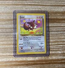 Eevee 51/64 1999 Jungle Pokemon Card NEAR MINT - Mint Ships Fast WOTC NM