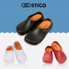 [STICO] Mens Chef Kitchen Slip Resistant Safety Rubber Occupational Shoes NEC03