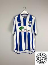 MALAGA 02/03 Home Football Shirt (XL) Soccer Jersey Umbro