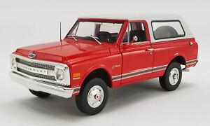 1:18 scale 1969 Chevrolet Blazer K/5 Die-cast Model - A1807701