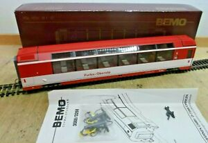 Bemo 3288 202 H0m Furka Oberalp Panorama Car As 4022 1. Cl. Red EP IV Boxed