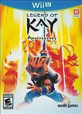 Legend of Kay Anniversary - Nintendo Wii U - BRAND NEW & SEALED - Wii U games