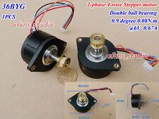 DC 6V 36BYG Stepper Motor 0.9 degree 2-phase 4-wire For 3D Printer CNC Robot New