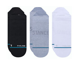 Stance Feel 100 - Prime Tab 3 Pack Multi-Color Ankle Socks A256A20ATH-MUL