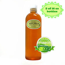 Premium UNREFINED Wheat Germ Oil Pure Organic Cold Pressed Best 2 oz up to 7 LB