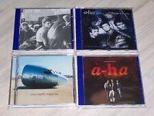 Schöne A-HA - Sammlung / Collection mit 4 CDs (mit Liste) ! !  Morten HARKET ! !
