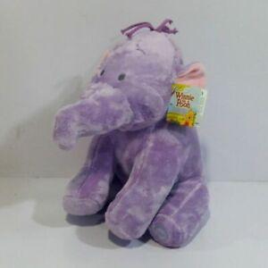 "Heffalump Lumpy Elephant Plush Toy Winnie The Pooh Stuffed 12"""