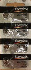 4 Energizer 397/396 (SR726SW) Silver Oxide Watch Batteries 1.55V- USA SELLER