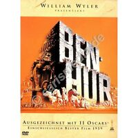 DVD: BEN HUR - Ausgezeichnet mit 11 Oscars - Klassiker, ca. 214 Min. *NEU* °CM°