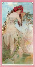 Canvas Portrait Art Prints Alphonse Mucha