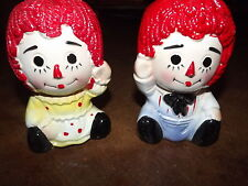 Raggedy Ann & Andy Giftwares Co Nancy Pew Japan planters collectibles