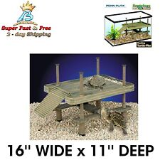 Turtle Pier Water Basking Platform House For Terrariums Reptile Aquarium Tanks
