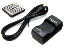 Battery+Charger for Sanyo Xacti VPC-E875 VPC-E890 VPC-E1075 VPC-E1090 VPC-E1292