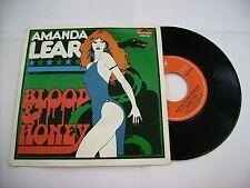"""AMANDA LEAR - BLOOD & HONEY - 7"""" VINYL EXCELLENT CONDITION 1976"""