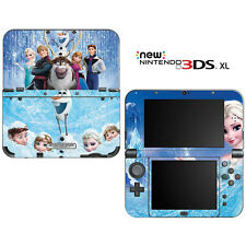 Frozen for New Nintendo 3DS XL Skin Decal Cover