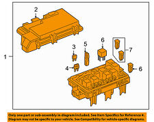 GM OEM Electrical Fuse Relay-Junction Block 25906446