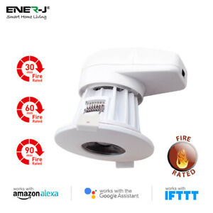 Smart Fire rated LED Downlight  Alexa Google Home WiFi App Remote Control