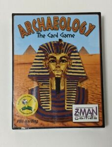 Archaeology - The Card Game, Z-Man Games, very good condition