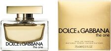 D & G THE ONE Dolce & Gabbana Perfume 2.5 oz edp NEW IN BOX