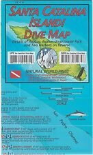 Santa Catalina Island Dive Map Waterproof Map by Frank Nielsen