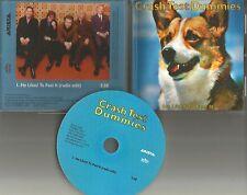 CRASH TEST DUMMIES He Liked to Feel it RADIO EDIT 1996 USA PROMO DJ CD Single