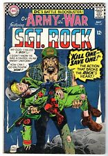 Our Army at War with Sgt. Rock #167, Fine Condition