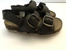 Gap Boys Toddler Brown Double Strap Sandals 9/10
