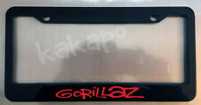 Gorillaz Black License Plate Frame