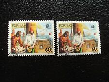 PORTUGAL - timbre yvert et tellier n° 1752 x2 obl (A28) stamp (H)