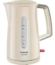 Hervidor de agua Crema / gris, 1,7 L.von Siemens tw3a0107