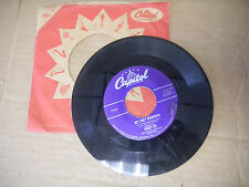PEGGY LEE it never happen to me/ he's only wonderful CAPITOL   45