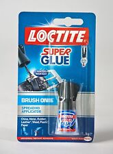 Henkel Loctite Easy Brush Superglue- High Bond Strength Easy to use Adhesive 5g