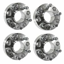 "4 pcs 2"" Hubcentric Wheel Spacers for Dodge Ram 1500 1994-2001 Trucks 1/2"" Studs"