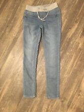 Vanilla Star Girls Banded Denim Jogger Pants Dark Blue or Marbled 7-16 NEW $36