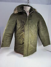 Vintage Sears Put-On Shop Snorkel Parka 34