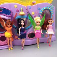 4 PCS Disney Tinkerbell Doll Toy  13CM Height