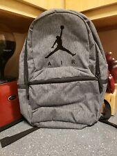 **** Nike Air Jordan Jumpman Backpack Basketball Gym Book school bag laptop Grey
