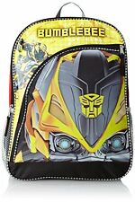"Transformers Large Backpack - BUMBLEBEE 16"" inches Backpack Licensed Product"