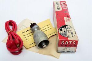 "58-61 Chevy V8 Engine Block Heater Freeze Plug Type 1.630"" Five Star Kat's K20-K"