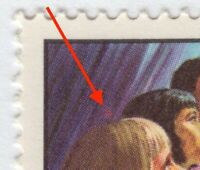 RED SPOT above Girl's head = ERROR -VARIETY = Unlisted Canada 1969 #502 [ec146]
