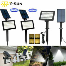 Solar Power 54-LED Spot Lights Outdoor Garden Security Pathway Landscape Lamp US