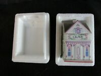 LENOX Spice Village Porcelain 1989 CLOVE House Cottage Spice Jar Crock