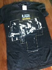 U2 Vintage T Shirt 80's 1988 Rattle And Hum Tour Concert Rock Band Joshua Tree