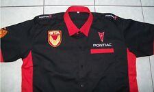 NUOVO Pontiac Trans Am GTA fan-Camicia Nero/Rosso shirt blouse Camisa Chemise